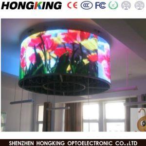 P2.5 P3-P4 HD мягкие резиновые Гибкие фиксированные светодиодный дисплей с любой формы или размера