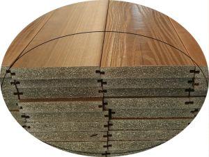 De houten Plastic Samengestelde Bevloering van de Co-extrusie voor Openlucht, Bevloering WPC/Decking, Samengesteld Hout