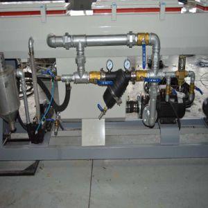 PE 플라스틱 관 선 또는 플라스틱 HDPE 물 또는 가스관 밀어남 생산 라인