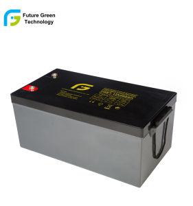 L'énergie renouvelable vert du Système de génération d'alimentation 12V250ah batteries solaires au plomb-acide