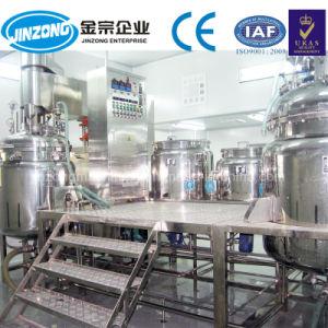 1000 litri delle cesoie di vuoto del miscelatore della crema d'altezza dell'omogeneizzatore di macchinario mescolantesi di Emulsifer per la crema del bambino dell'olio di oliva della lozione del corpo