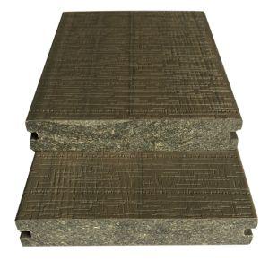 Im Freien erhöhter langer Bodenbelag der Faser-WPC/Decking, zusammengesetztes Holz/Fußboden, Koextrusion WPC