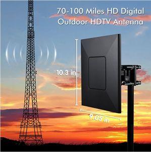 Migliore antenna esterna di VHF, di frequenza ultraelevata e di HDTV