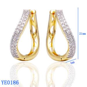 Neue Art-Ohrring-Entwürfe, Frauen Huggies Schmucksachen in China
