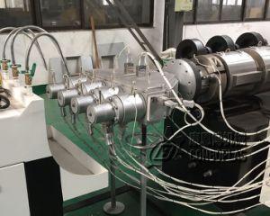 El tubo de plástico Máquina Four-Pipe de UPVC CPVC Tubo de agua de la extrusora