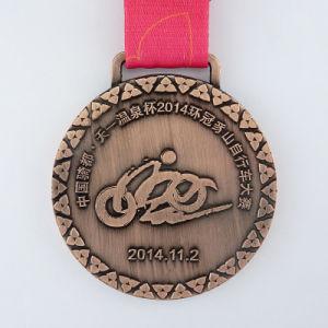 カスタム金属の銅の競輪の安いスポーツメダル