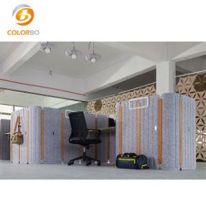 Polyester-Faser-akustischer Schreibtisch-Bildschirm 100% für Büro-Dekor