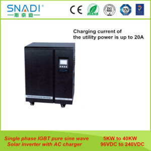 Snadi 6 kw 8 kw 10kw 12kw 15kw 20kw Monofásico, baixa freqüência da onda senoidal pura Inversor Solar