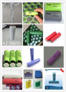 3.7V 2600mAh Batería de litio celdas de iones de litio li-ion de la batería de alta potencia de la batería de almacenamiento portátil de almacenamiento de la batería batería recargable