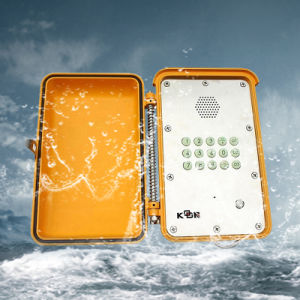 防水電話ちり止めの電話IP67通話装置の緊急時の電話