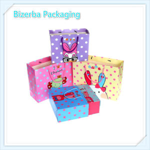 La moda de lujo en caliente de la caja de regalo bolsa de papel reciclado (BP-BC-0002)