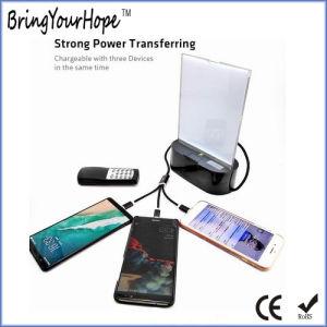 3-en-1 Cargador de teléfono del banco de potencia para restaurante Cafe (XH-PB-272)