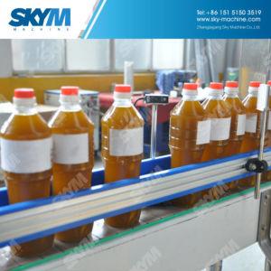 Frasco PET de elevada qualidade das bebidas vegetais comestíveis de líquido do azeite com todo o equipamento da máquina de enchimento