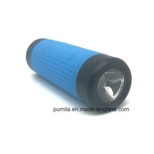 Altavoz exterior inteligentes todo en un altavoz inalámbrico Linterna impermeable