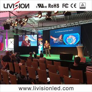 O LED de evento no interior do ecrã de vídeo P3.9/4,8 visor LED Venda