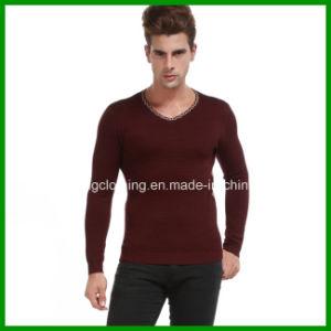Commerce de gros hommes Fashion chandail cardigan tricoté avec des prix bon marché
