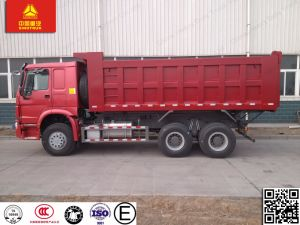 Sinotruk 6*4 30t HOWOの頑丈なダンプトラックかダンプカートラック