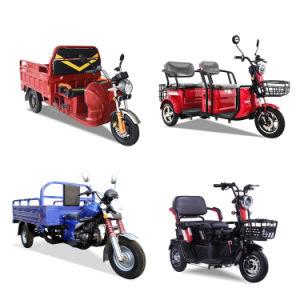 Alta potencia de 60V1000W triciclos de carga eléctrica con cargas pesadas, cómodo vehículo