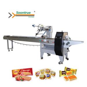 Хрустящее печенье/хлеб/конфеты полного автоматического управления электродвигателем усилителя тормозов закуска продовольственной упаковке изготовителя машины