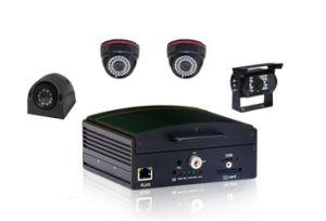 HDD&SD Karte bewegliches DVR, doppeltes Shockproof, G-Sensor Auto DVR