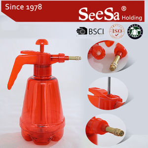 Brass Nozzle (SX-575-1L)の1.5 L庭Household Hand Compression Air Pressure Sprayer
