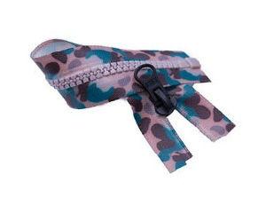 Plastic Ritssluiting, O/E, de Band van de Kleur van de Camouflage