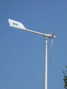 Anhua 10kw off-Grid Project Used Highquality Wind Power Generator