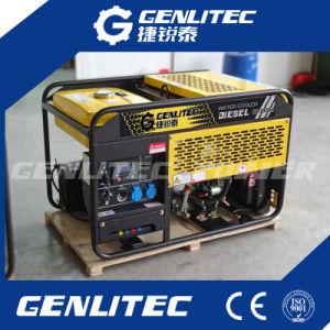 Semi-Open 10 ква дизельных генераторных установках для резервного питания