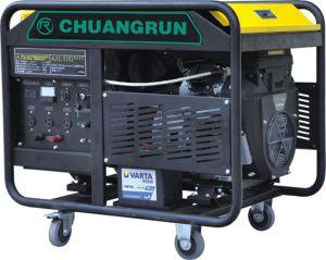 Wechselstrom-einphasig-Ausgabe-Typ 10kw Benzin-Generator mit Pinsel