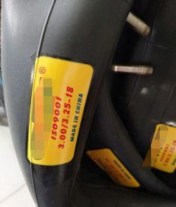 Resonable Preis-Motorrad-inneres Gefäß für Philippinen-Markt