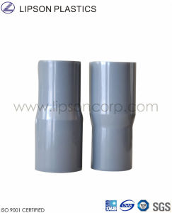 Les raccords de tuyaux sanitaires en PVC de réducteur
