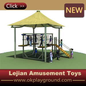 Natureza Kids Outdoor Play Climbing Equipment com CE Approved