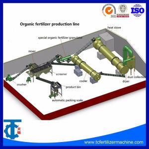 Lijn van de Korrel van de Meststof van de Vorm van de Bal van de Fabriek van China de Organische