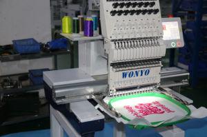 Wonyoの単一ヘッドによってコンピュータ化される刺繍機械Wy1201CS