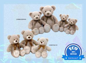 Оэс животных Мишка для детей из переработанных мягкие Мягкие плюшевые игрушки и игрушки