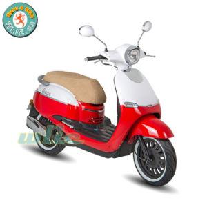 Ciclomotor motocicleta de 125cc de gas de la gasolina Gasolina Retro CEE & Coc Scooter de rueda de 2 125 de crucero (Euro 4)