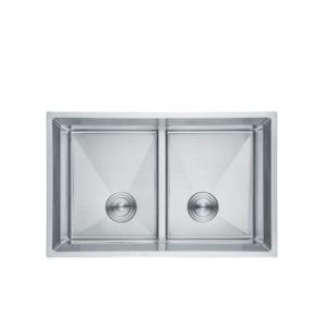 Hechos a mano personalizable encimera de acero inoxidable 304 de 800*500mm Cube Fregadero