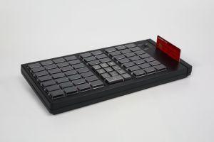 MSR (KB66)를 가진 POS 풀그릴 키보드