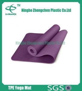 Mat van de yoga paste Milieuvriendelijke Materiële Mat Pilates aan