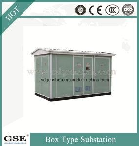 Type de boîte de plein air européenne transformateur de puissance le poste de distribution