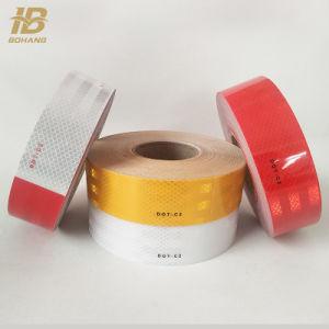 50mmx45.7m amarillo visibilidad grado Diamante cinta reflectante 3m para vehículo