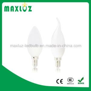 LED de 5 W a intensidade de luz de velas E14 E27 B22 Aprovação