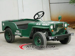 Gas Powered Mini Jeep en venta