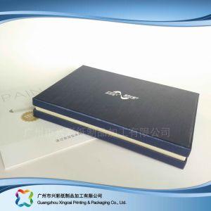El papel de regalo de lujo de embalaje de chocolate/// Caja de cosméticos de prendas de vestir (XC-hbg-007).