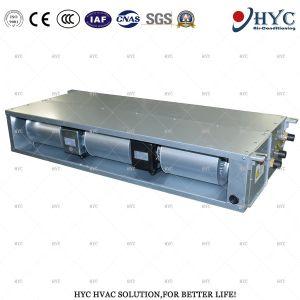 Ec/moteur DC dissimulé horizontal conduit du ventilateur de l'unité de bobine d'eau réfrigérée (avec filtre électrostatique)