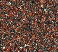 모래 분사와 Waterjet 절단을%s 석류석 거친 모래