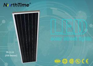 Los chips de Bridgelux LED de batería de litio calle la luz solar con Ce/RoHS/IP65