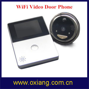 WiFi Peephole-videotürklingel mit 2.8 '' HD Screend