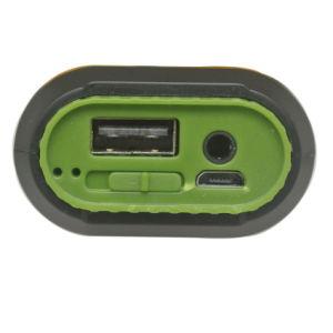 LED 플래쉬 등을%s 가진 1개의 Bluetooth 스피커 힘 은행 4000mAh에 대하여 3