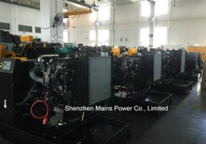 gruppo elettrogeno diesel del motore BRITANNICO di potere standby di 110kVA 88kw